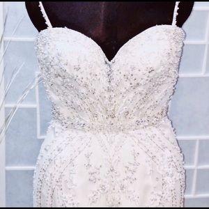 Kenneth Winston Style 1615 Wedding Gown